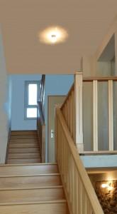 La cage d'escalier-Bry-sur-Marne