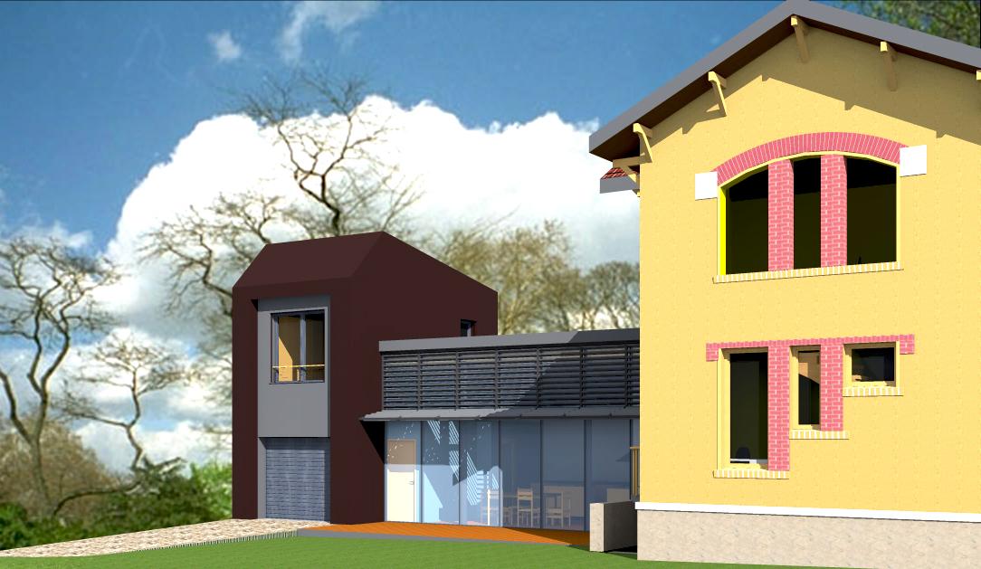 agrandissement-contemporain-maison