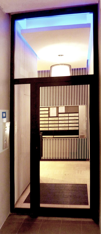 eclairage-bandeau-LED-entree-habitation